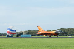 Dutch Solo Display Team F-16 Royalty Free Stock Photos