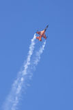 Dutch Solo Display Team F-16 Royalty Free Stock Images