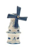 Dutch souvenir windmill isolated Stock Photography