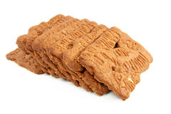 Dutch speculaas biscuit Stock Images