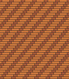 Dutch spiral brickwork Stock Photos
