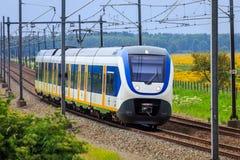 Dutch Sprinter train Stock Photography