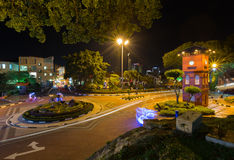 Dutch Square in the historic center of Malacca Malaysia Royalty Free Stock Photography