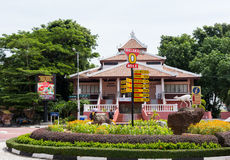 Dutch Square in the historic center of Malacca Malaysia Royalty Free Stock Photo