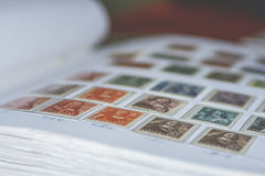 Dutch stamps Royalty Free Stock Images
