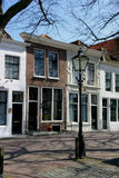 Dutch Street Scene. Street Scene in Zierikzee Royalty Free Stock Photo