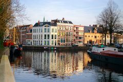 Dutch style building Royalty Free Stock Images