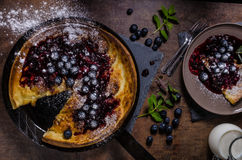 Dutch style pancake Royalty Free Stock Photography