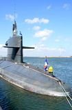 Dutch submarine Royalty Free Stock Photo