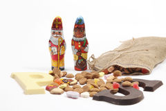 Dutch sweets for ' Sinterklaas' holiday royalty free stock photo