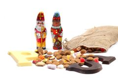 Dutch sweets for ' Sinterklaas' holiday Stock Images