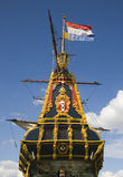 Dutch tall ship 6 Stock Photos