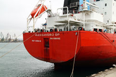 Dutch tanker ALESSANDRO DP Royalty Free Stock Photo