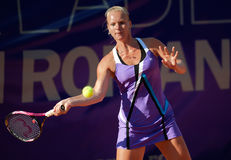 Dutch tennis player Kiki Berten Stock Photo