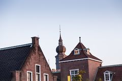Dutch themed building at Huis Ten Bosch. stock images