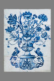 Dutch tile from the 16th to the 18th century Stock Photos