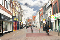 In the Dutch town of Gorinchem . Stock Photo