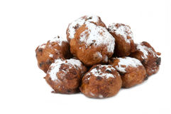 Dutch traditional oliebollen Stock Photo