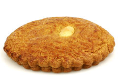 Dutch traditional pastry calledgevulde koek Royalty Free Stock Photo