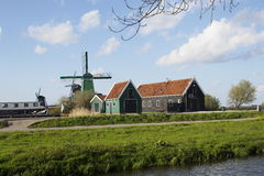 Dutch traditional village Stock Images