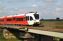 Dutch train Royalty Free Stock Photo