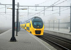 Dutch train Royalty Free Stock Image