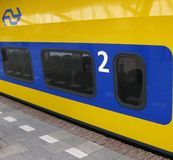 Dutch Train stock image