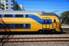 Dutch train Royalty Free Stock Photos