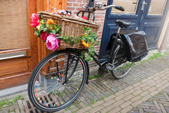 Dutch transport bike Royalty Free Stock Images