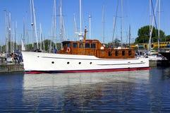 Dutch Trawler Motor Yacht Misha Stock Photo