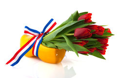 Dutch tulips Royalty Free Stock Images