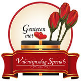 Dutch Valentine`s Day Specials Stock Images