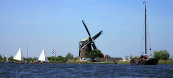 Dutch view Royalty Free Stock Images