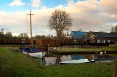 Dutch village Royalty Free Stock Photo