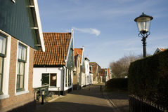 Dutch village. Typical small Dutch village with traditional houses stock images