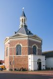 Dutch village church Royalty Free Stock Photos