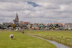 Dutch village of Marken Royalty Free Stock Images