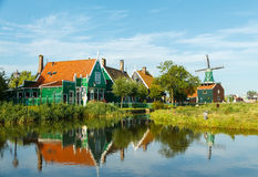 Dutch village. Royalty Free Stock Photo