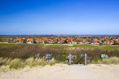 The Dutch village of Zoutelande. Netherlands stock photos