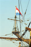 Dutch VOC ship from the golden century of Netherlands. Photographed on Sail 95 Stock Photo