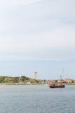 Dutch wadden island Terschelling Royalty Free Stock Photos