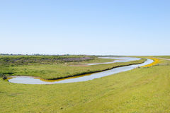 Dutch wadden island Texel Royalty Free Stock Photos