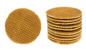 Dutch waffle Stock Photo