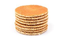Dutch waffle Stock Photography
