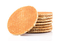 Dutch waffle Stock Photo