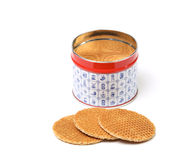 Dutch waffles Royalty Free Stock Photography
