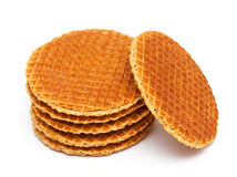 Dutch Waffles Royalty Free Stock Photos