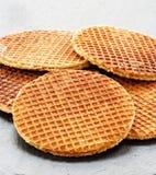 Dutch Waffles Royalty Free Stock Photos