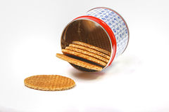 Dutch waffles Royalty Free Stock Images