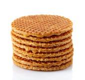Dutch waffles Stock Photography
